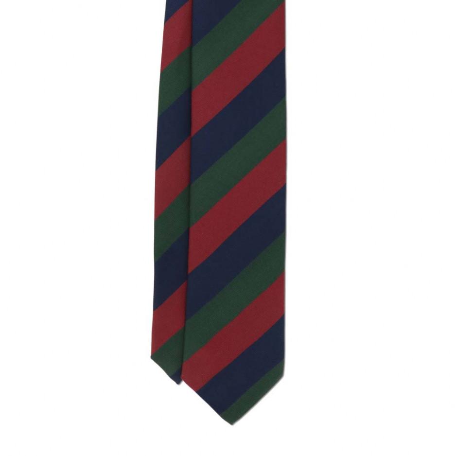 Cravate Club Bleu Rouge Vert