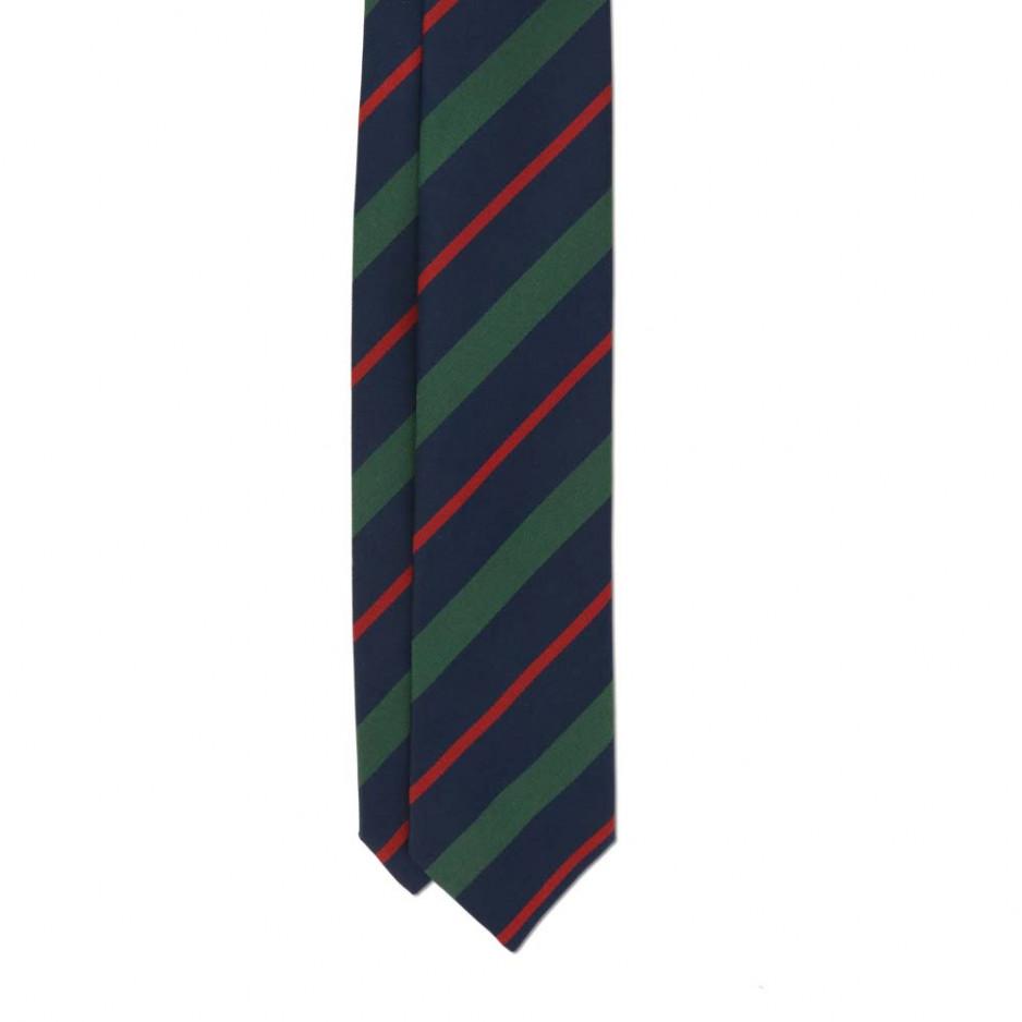 Cravate Club Rouge Bleu Vert