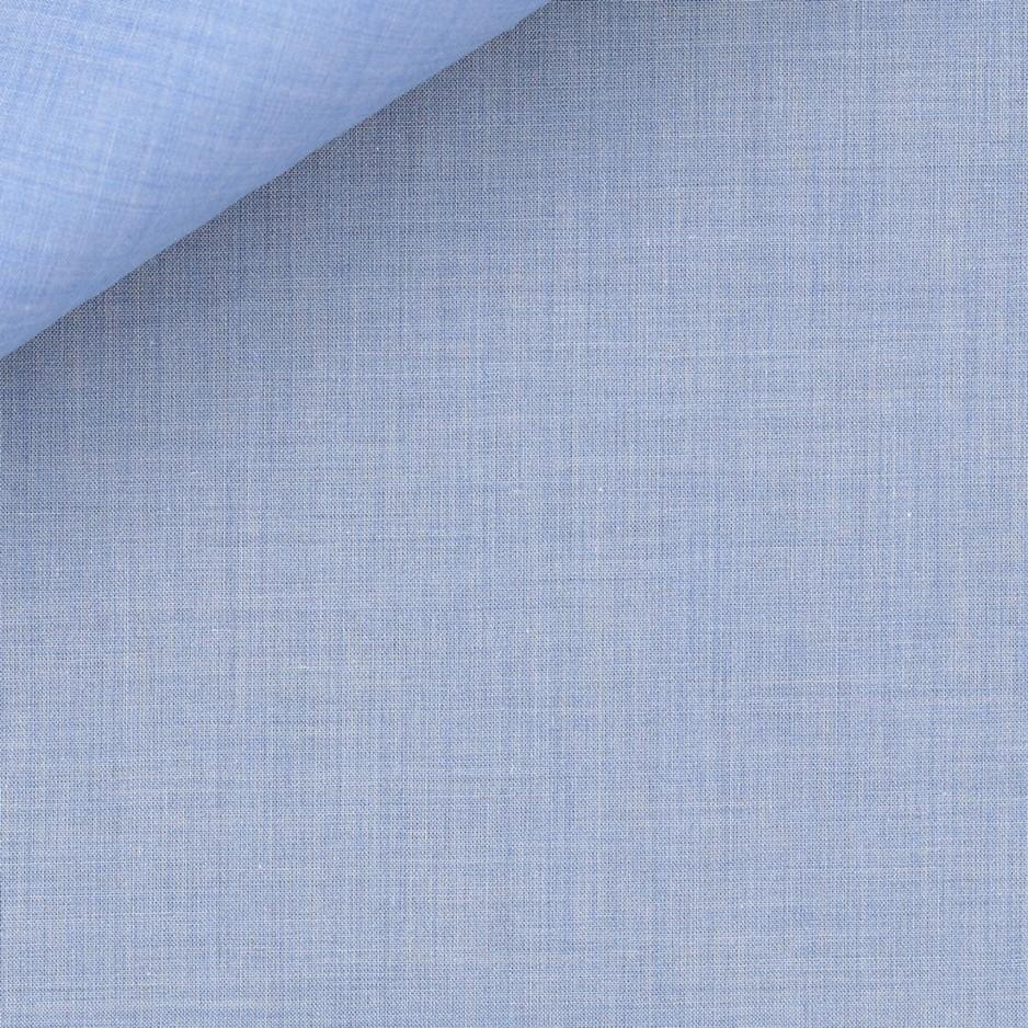 Mousseline Uni Bleu