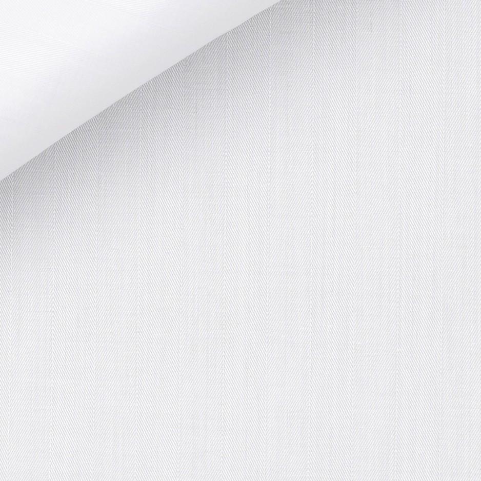 Dobby Uni Blanc
