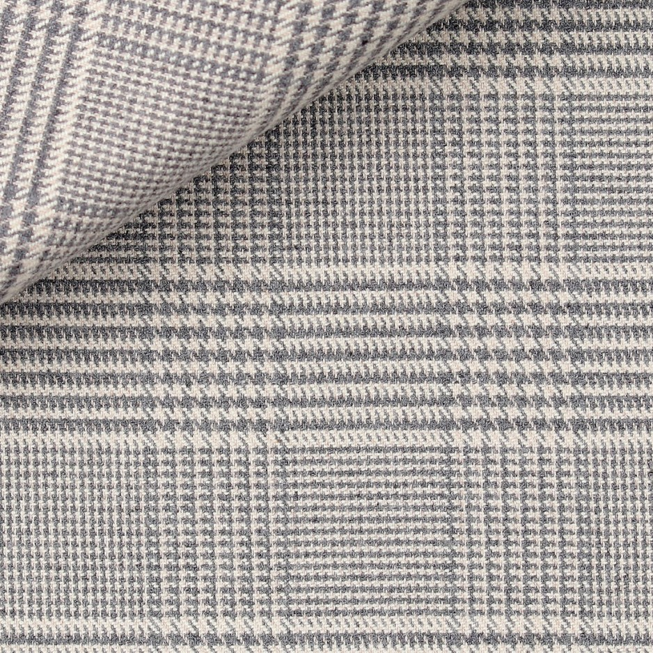 Flanelle Carreaux Gris