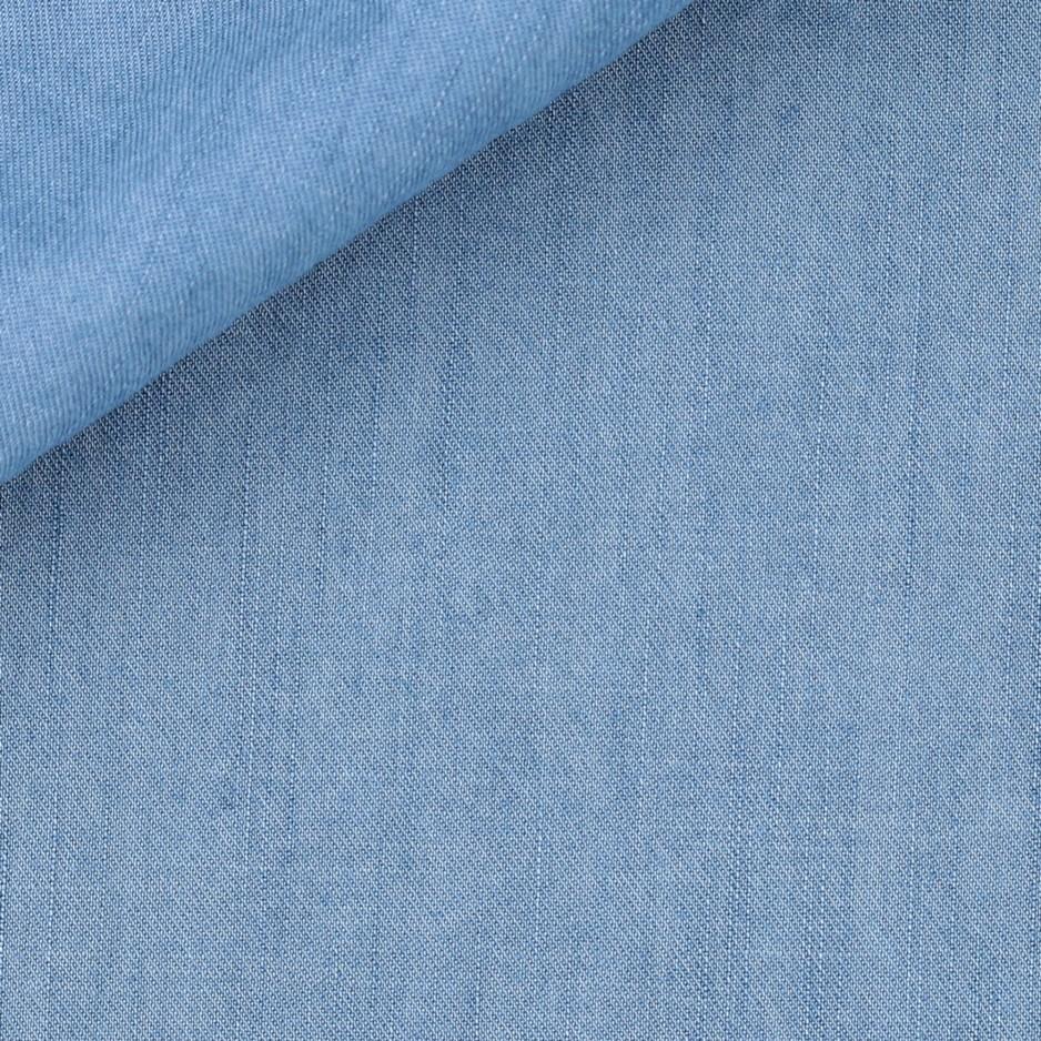 Denim Uni Bleu