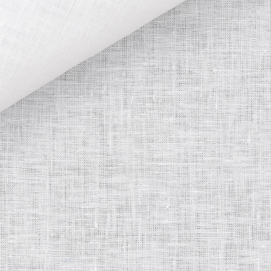 Lin Uni Blanc (repassage facile)