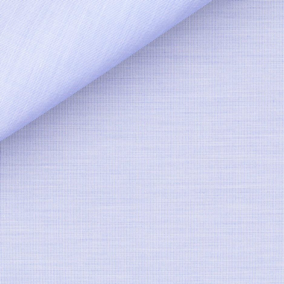 Fil à Fil Uni Bleu (repssage facile)