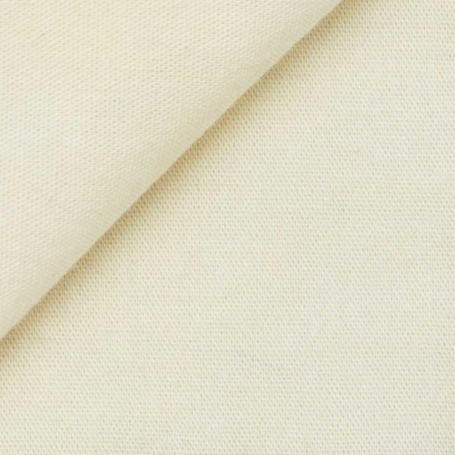 Chambray Uni Blanc