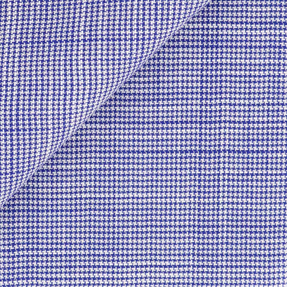 Chambray Carreaux Bleu