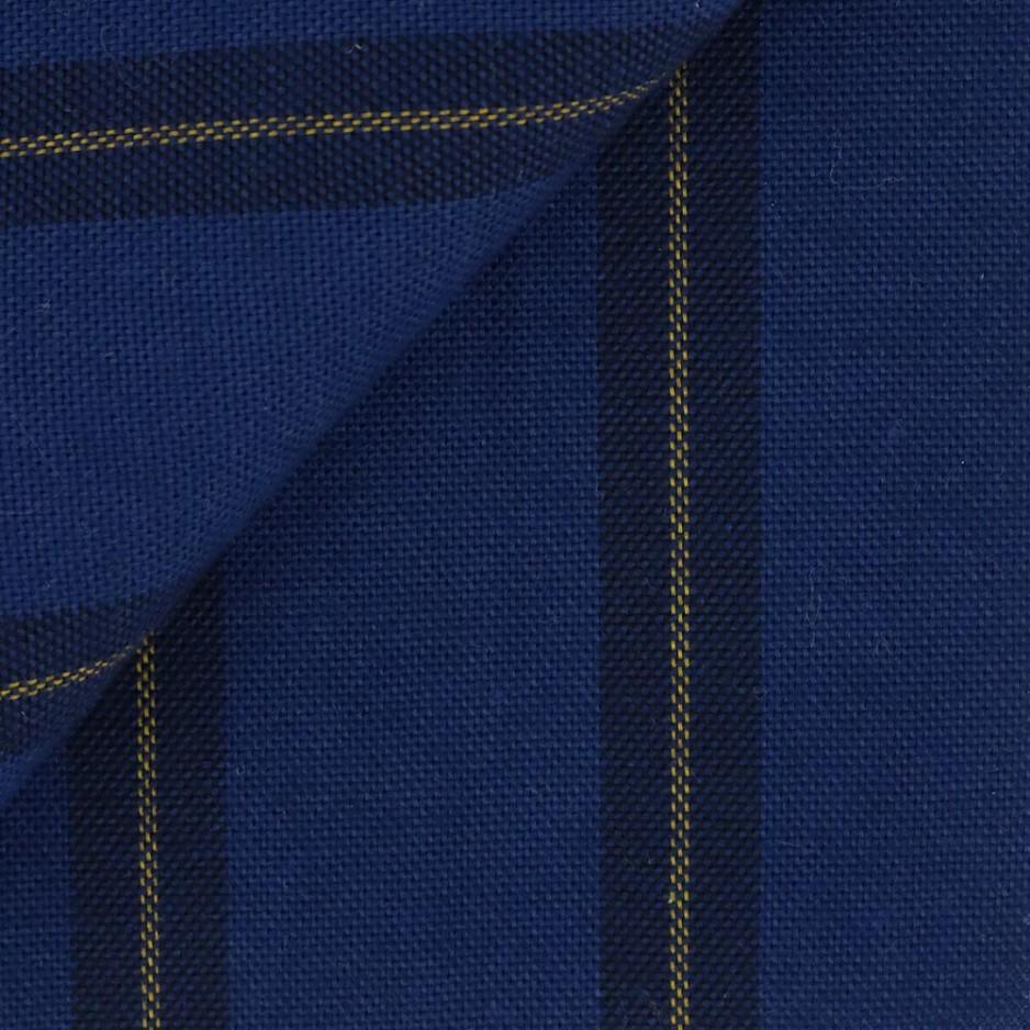 Oxford Rayé Bleu Jaune