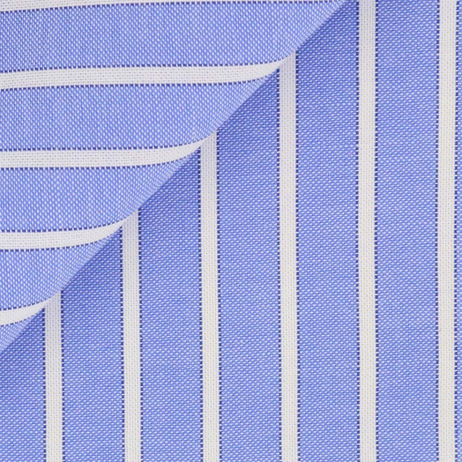 Pin Point Rayé Bleu