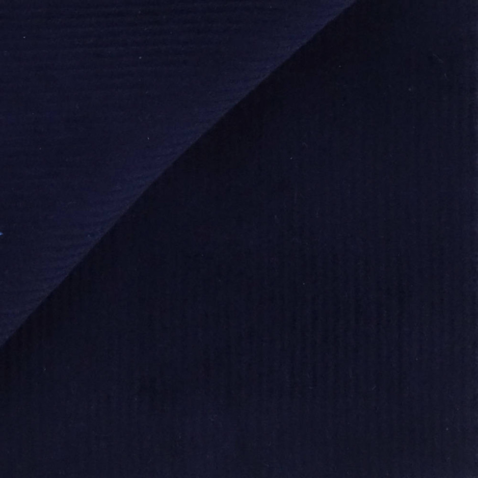 Velours Uni Bleu