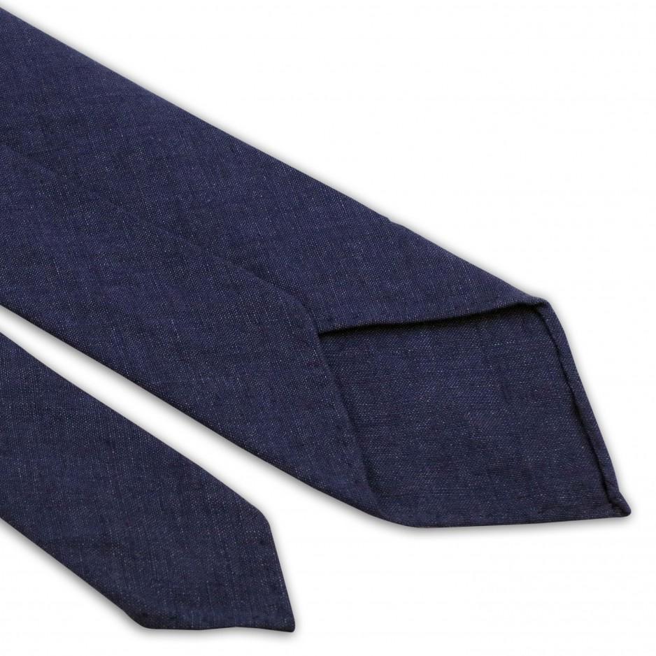 Cravate Bleue Lin