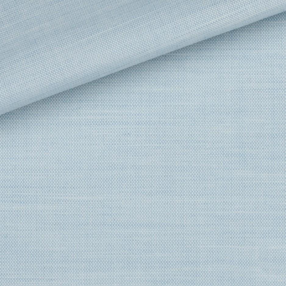 Chambray Uni Bleu