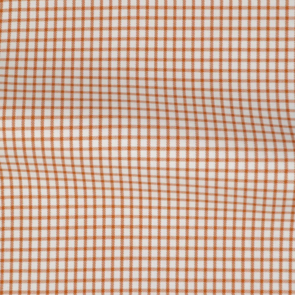 Twill Carreaux Orange