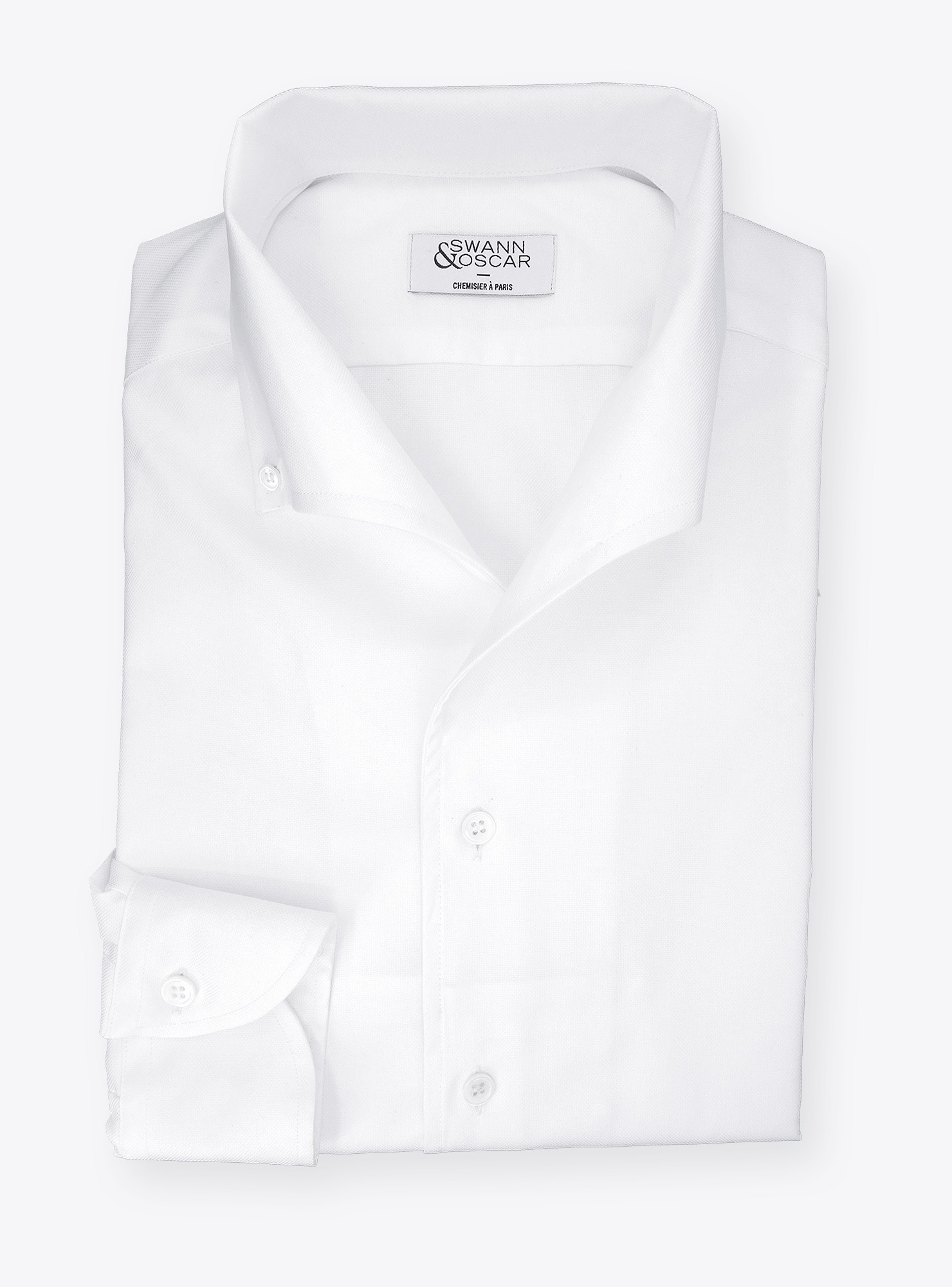 Oxford Blanc Uni Ch086608Swannamp; Chemise Oscar nmN08vOywP