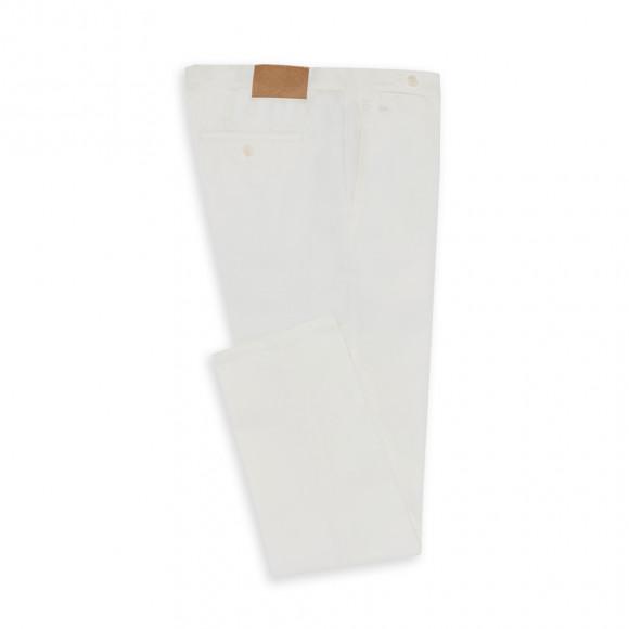 Chino habillé twill blanc