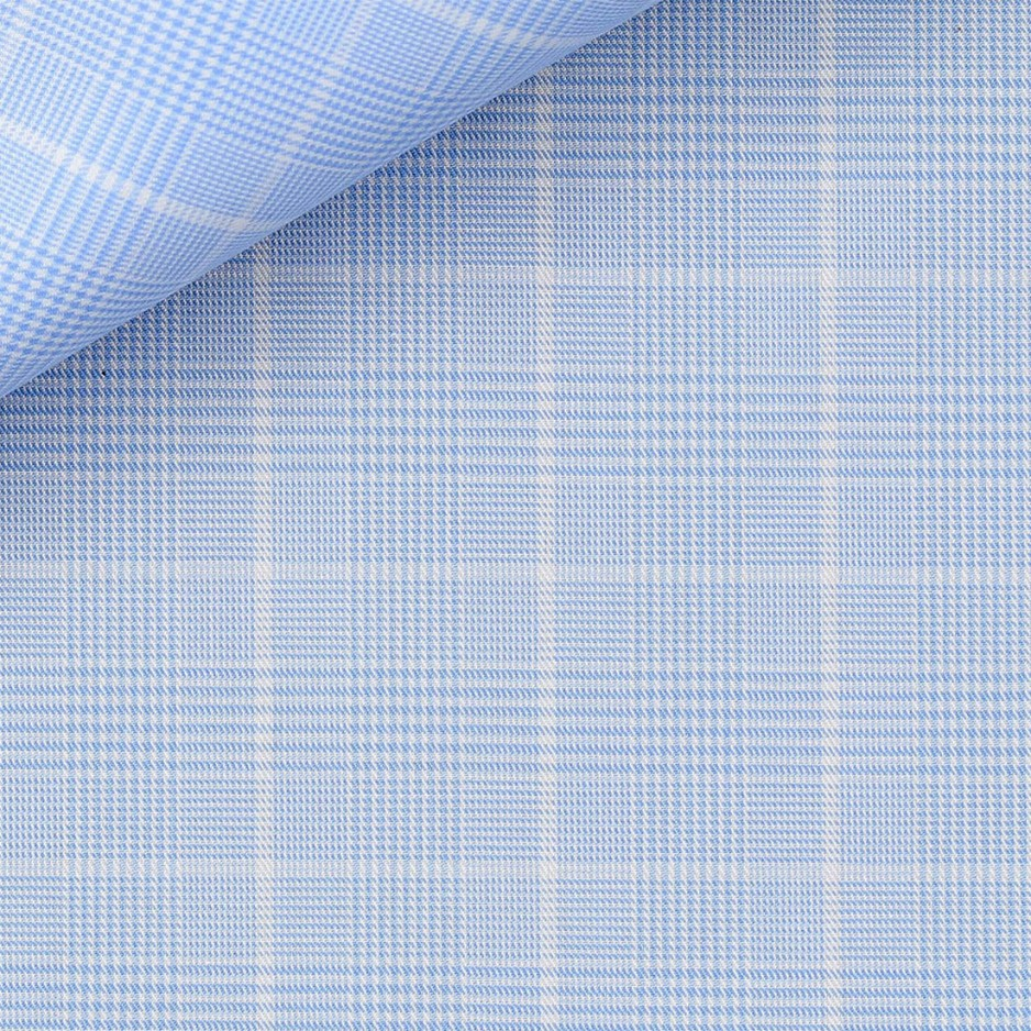 Prince de Galles Uni Bleu (repassage facile)