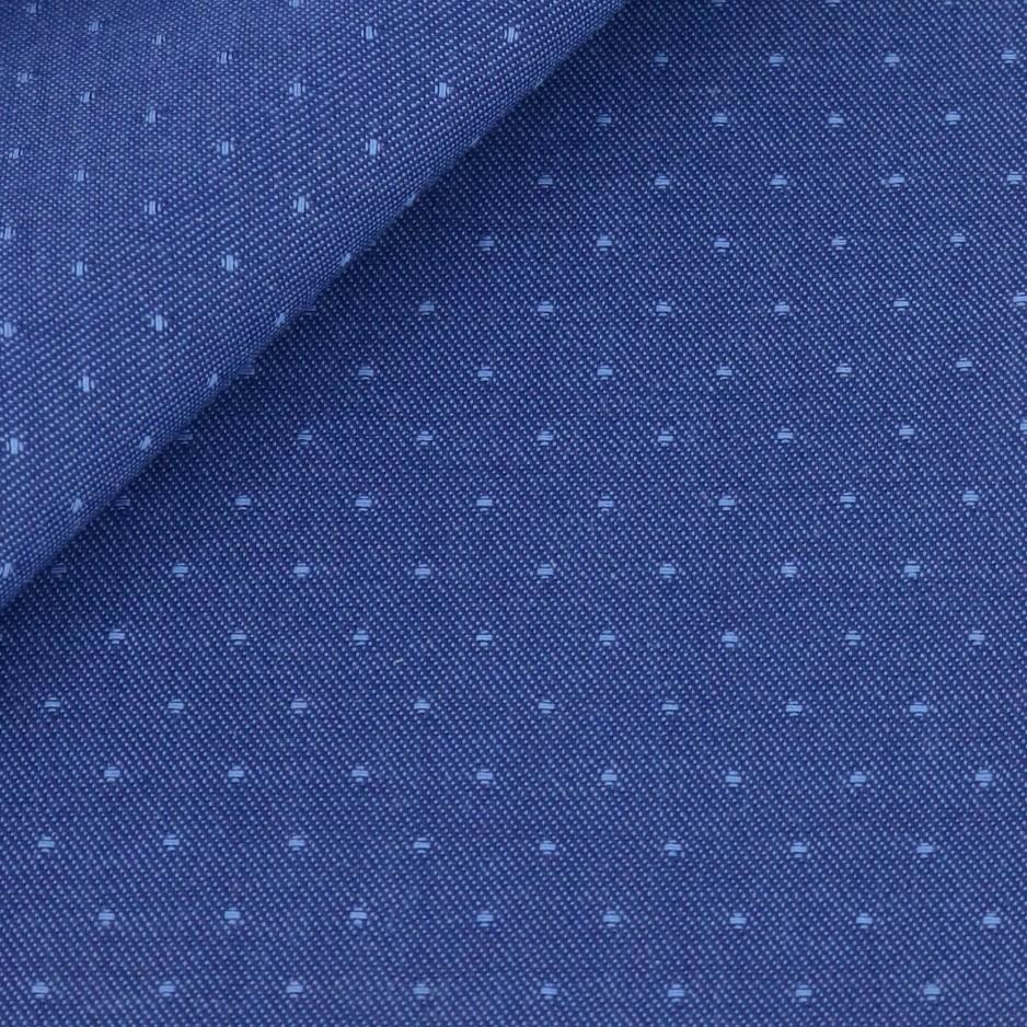Twill Motif Bleu