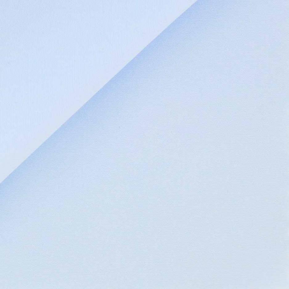 Popeline Uni Bleu