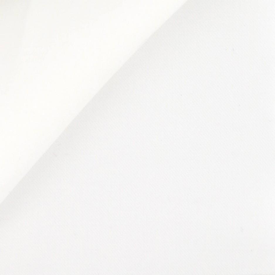 Twill Uni Blanc cassé