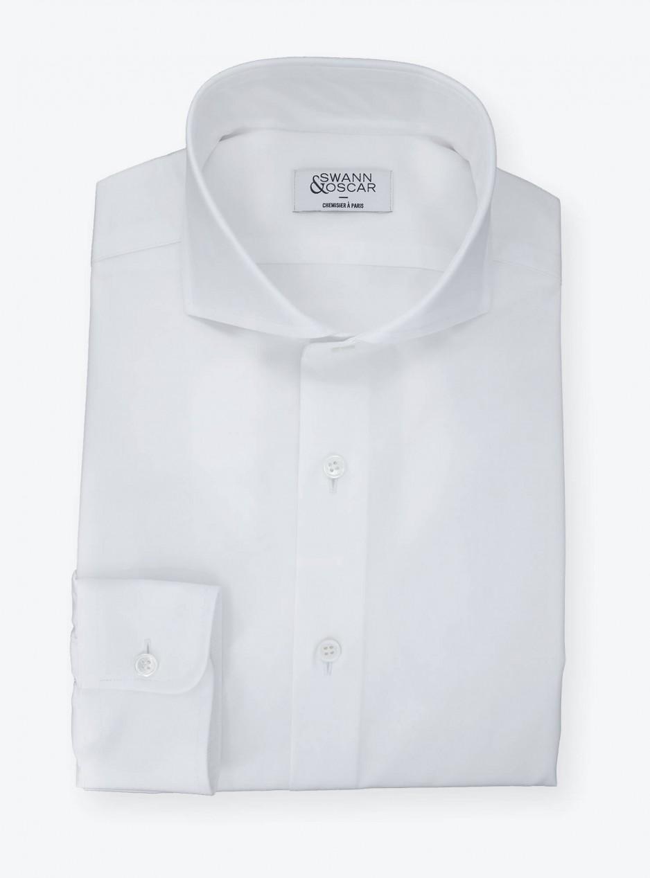Chemise Popeline DJA Uni Blanc