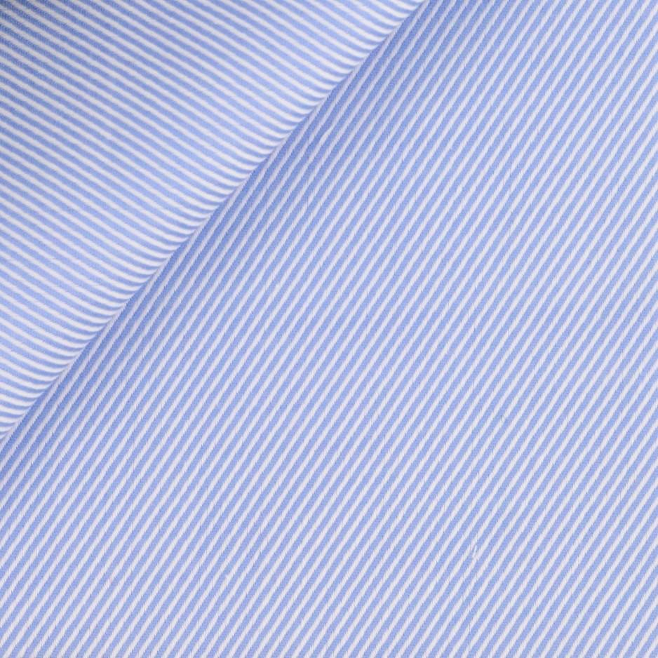 Twill Uni Bleu