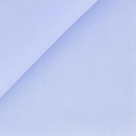 Chemise Popeline Uni Bleu