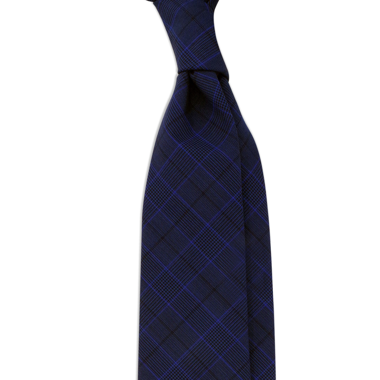 cravate bleue rayures luxe swann oscar. Black Bedroom Furniture Sets. Home Design Ideas
