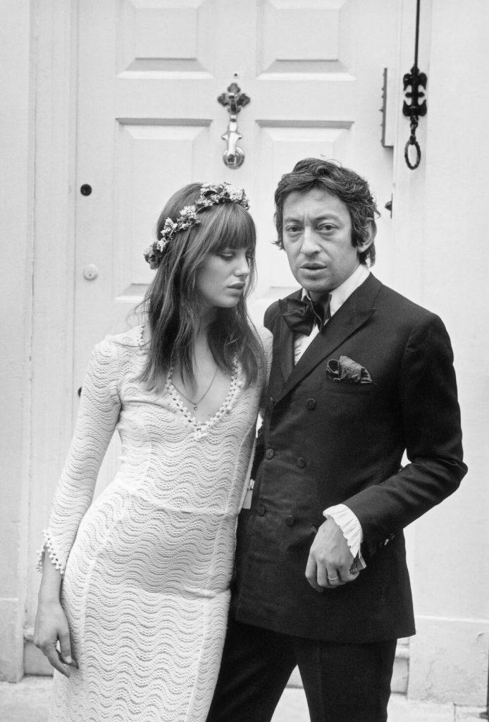 Mariage Jane Birkin et Serge Gainsbourg
