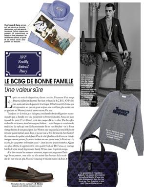 Article Paris Capitale - Le coffret cadeau chemise de Swann