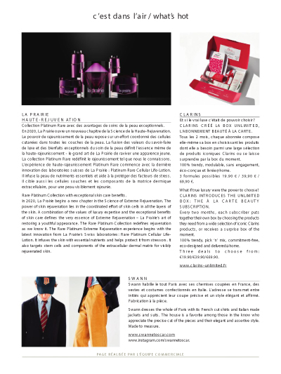 Air France Magazine - Sur-mesure