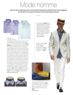 Article Décideurs - Chemises et styles