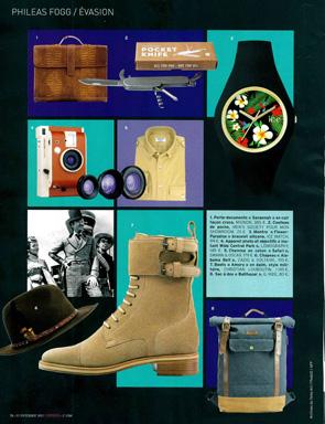 Article Guide Cadeaux l'Express - Chemise Safari