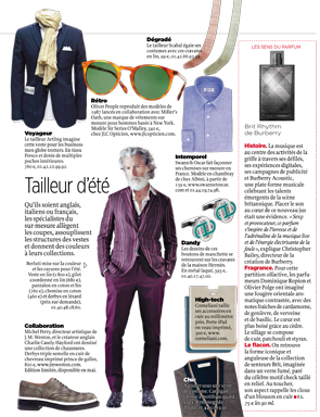 Article Le Point - Chemise intemporelle