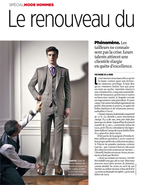Magazine Le Point - le sur mesure