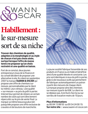 Article Econimie Matin