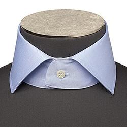 Photo d'un col de chemise à col italien