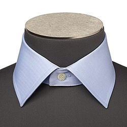 Photo d'un grand col de chemise