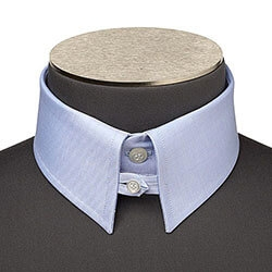 Photo d'un col anglais de chemise