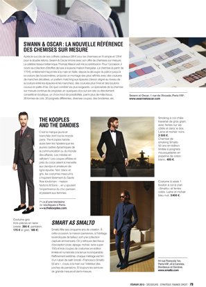 Magazine Decideurs - Vêtements sur mesure