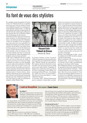 Magazine Money Week - Ils font de vous des stylistes