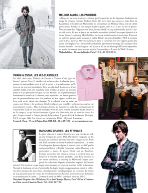 Magazine Monsieur - Swann Les Néo-Classiques