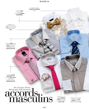 Magazine Oui Magazine - La chemise de mariage