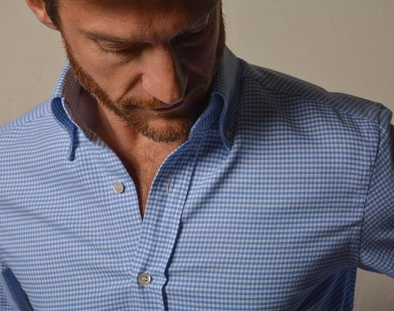 Chemise à la bonne taille