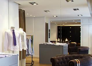 Nos boutiques de chemises