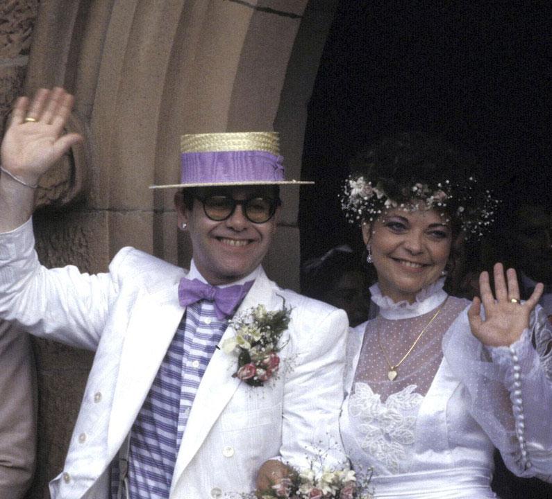 Mariage Elton John