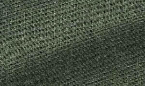 Tissu costume vert lin laine soie