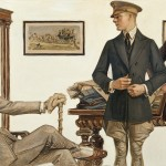 JC Leyendecker Dandy