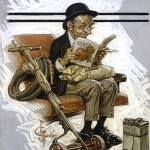 JC Leyendecker Dandy - Dandy chapeau melon