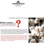 Cotton Fabrics - Thomas Mason Shirting