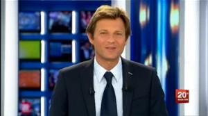 Chemise blanche Laurent Delahousse