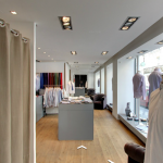Visite 360° de la boutique de chemises à Paris
